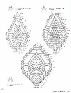 Motif crochet pineapple Motif pineapple is common in crochet. This video shows how to crochet pineapple. Crochet Motif Patterns, Crochet Diagram, Crochet Chart, Crochet Designs, Débardeurs Au Crochet, Irish Crochet, Pineapple Crochet, Pineapple Pattern, Crochet Tutorial