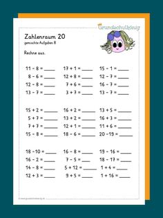 schule Mixed tasks Tips on Dealing with Slugs and Snails in the Garden One of the most common proble Plastic Drink Bottles, Im Online, You Know Where, Math For Kids, Petra, Classroom Decor, Just Love, Periodic Table, Education