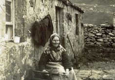 Picture of a St Kilda lady