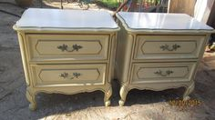 Pair of Henry Link Mid Century French Provencial Nighstands