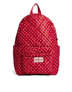 Cath Kidston Quilted Nylon Backpack