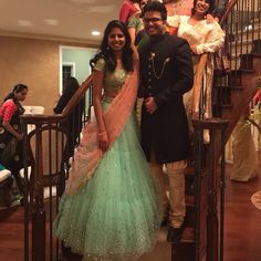 Brides in Mrunalini Rao Lehenga Choli Wedding, Lehenga Style Saree, Lehenga Blouse, Saree Dress, Designer Lehanga, Designer Wear, Designer Dresses, Half Saree Designs, Blouse Designs Silk