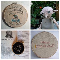 60 Awesome Geek Crafts via craft.tutsplus.com Harry Potter