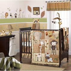 Check out the Cocalo Nali Jungle Eight Piece Crib Set from BabyAge.com!