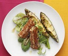 Involtini mit grillierter Avocado und Balsamicojus