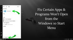 How to Fix Windows 10 Creators Update Start Menu Issues. #windows #creatorsupdate ✅ +Downloadsource.net