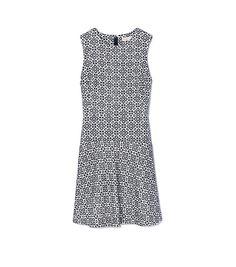 Tory Burch Textured Burlap Dress