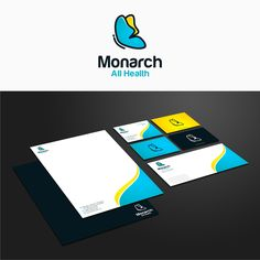 Freelance Work Projects Monarch All Health needs a Iconic, Memorable, and Whimsical logo. by java® Brand Identity Pack, Brand Identity Design, Create A Logo, Custom Logos, Logo Branding, Whimsical, How To Memorize Things, Java, Health
