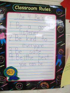 Cozy Kindergarten: Classroom Organization Ideas
