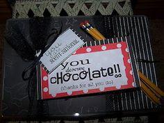 Seasons Of Joy: Teacher Appreciation Gifts Cute Teacher Gifts, Teacher Treats, Best Teacher, Teacher Stuff, Bus Driver Appreciation, Teacher Appreciation Week, Employee Appreciation, Candy Poems, Candy Sayings