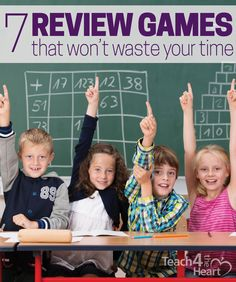 """By choosing games that focus on the questions themselves while spending minimal time on the """"game"""" part, we can add some fun into our test prep without sacrificing the review."""