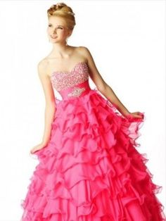 Ball Gown Sweetheart Beading Organza Sleeveless Floor-length Dress