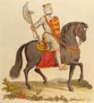 During his entire 10 year reign as being King of England, King Richard only spent 6 months actually in England as he was always out fighting battles.