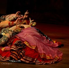 love this shot & the beautiful Padma sari skirts.  Fat Chance Bellydance https://www.facebook.com/pages/FatChanceBellyDance-Inc/156748387703673 Pic ~ C.M. DeSpears www.facebook.com/bellydancer.co