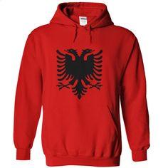 Flag of Albania T Shirt, Hoodie, Sweatshirts - create your own shirt #teeshirt #clothing