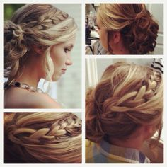 banquet hair! #hairbymia #pinspiration love the top of hair!!!