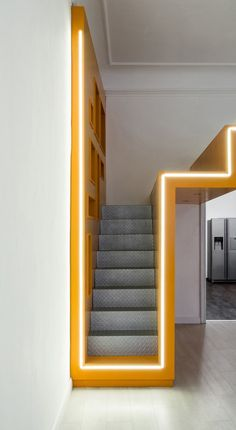 Professionals in staircase design, construction and stairs installation. In addition EeStairs offers design services on stairs and balustrades. Stairs Architecture, Interior Architecture, Luxury Furniture, Furniture Design, Exterior Stairs, Modern Stairs, Stair Lighting, Cove Lighting, Stair Railing