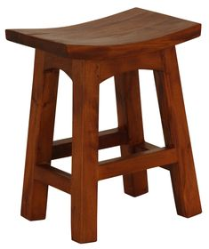 Molly Wooden Barstool | Temple & Webster
