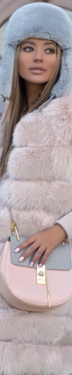 ❈Téa Tosh❈ Маргарита Цельсова Margarita Tselsova #ritatesla #teatosh Fabulous Furs, Pastel Fashion, Powder Pink, Margarita, Rose, Fashion Accessories, Glamour, Pretty, Heavenly