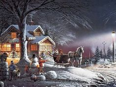 Christmas Wonderland by Terry Redlin