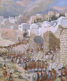 The Taking of Jericho, 1896-1902   James Tissot