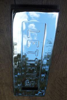 LetterplateHandcrafted in UK Door Knockers, Door Knobs, Door Handles, Front Door Hardware, Door Letters, Urban Cottage, Window Furniture, Victorian Door, Contemporary Doors