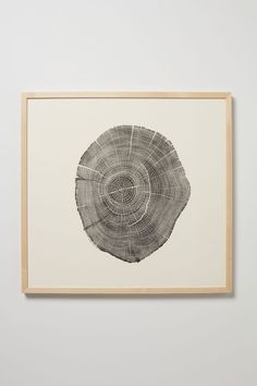 "Woodcut Print, Weathered Wood - 25""x27"" limited edition of 20 ($1,250, Anthropologie)"