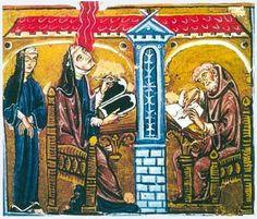 The German Abbess and Musician Hildegard von Bingen
