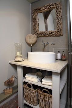 from Modern Country Style blog: Cottage Tour...Modern Country Hideaway! Turtledove Cottage