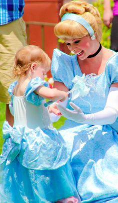 Disney Files  I want a little girl one day to dress up and take to Disney World :)  Cinderella