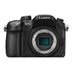 Panasonic Lumix DMC-GH4 Mirrorless Digital Camera Body Black   DMC-GH4KBODY