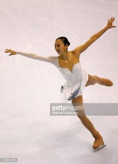 Mai Asada of Japan competes in the free skate portion of the ladies... News Photo | Getty Images