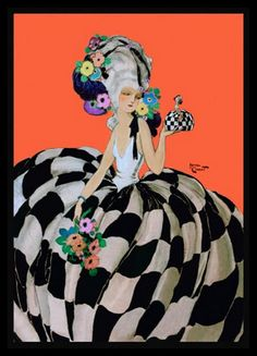 Homer Conant c. 1920 #vintage #art #fashion #illustration