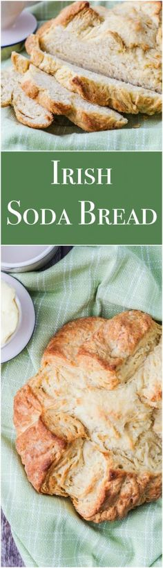 Recipe for Irish Soda Bread- an easy bread with just a few ingredients and no rise times, this is perfect for those new to baking.
