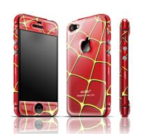 Spiderweb gel guard for iPhone 4/4s