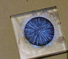 Glory Hound designs: Faux Enamel Tutorial One Polymer Clay