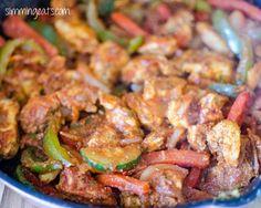 Fajita Chicken Pasta | Slimming Eats - Slimming World Recipes