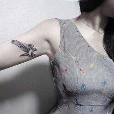 küçük kartal dövmesi small eagle tattoo