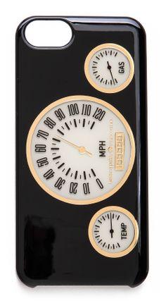 Kate Spade New York vintage odometer iPhone 5 case. #MakeTheOutfit