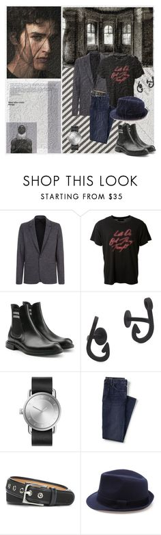 """Sussudio"" by lablanchenoire ❤ liked on Polyvore featuring Folio, Urban Decay, Lanvin, AMIRI, Fendi, MIANSAI, Lands' End, Donald J Pliner, men's fashion and menswear"