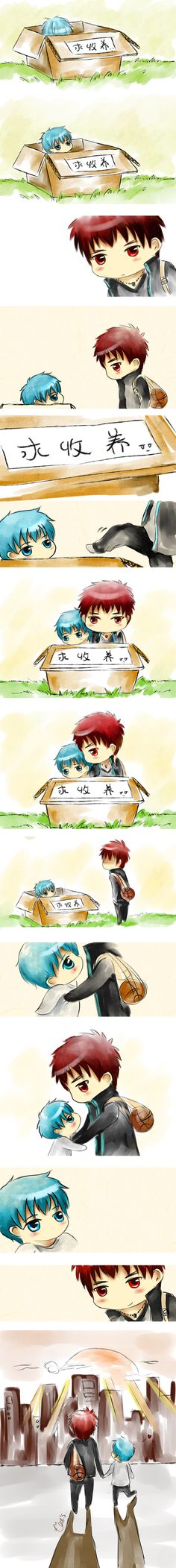I wanna take Tetsu home too >w<