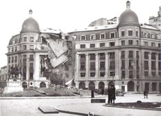 April-May 1944 – British American bombardments in Bucharest – dead, wounded, left without homes(source). August 1944 – Nazi bombardments in Bucharest R… History Of Romania, Mall Of America, North America, Beach Trip, Beach Travel, Time Travel, Shopping Travel, British American, Royal Caribbean Cruise