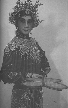 Beautiful antique Asian costuming