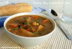 Hearty Slow Cooker Beef Stew Weight Watchers Friendly