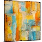 Found it at Wayfair - Pathways by Erin Ashley Painting on Canvas