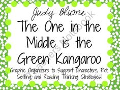 The One in the Middle is the Green Kangaroo product from KidsForever on TeachersNotebook.com