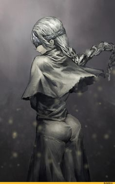 Fire keeper,DSIII персонажи,Dark Souls 3,Dark Souls,фэндомы,DS art