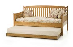 cool Wooden Daybed With Trundle