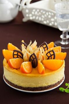 Russian Cakes, Russian Desserts, Russian Recipes, Cheesecake, Mango Cake, Mac And Cheese Homemade, Jus D'orange, Pastry Cake, Special Recipes