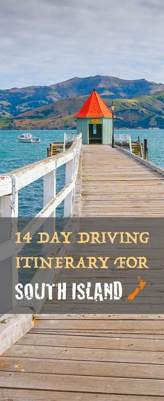 With an abundance of natural attractions, adventurous activities & marine wildlife New Zealand's South Island is perfectly suited for any type of driving holiday. http://www.newzealandbyroad.com/driving-itinerary-new-zealand-south-island-14-days/